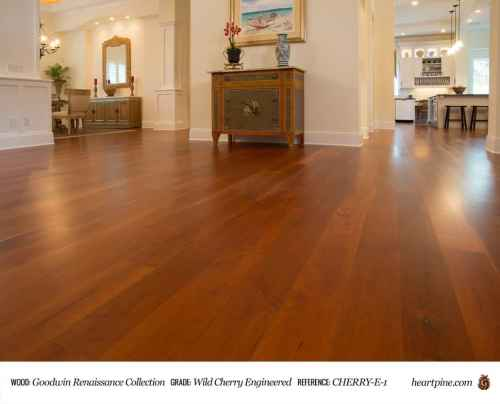 Medium Of Cherry Wood Flooring