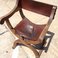 Furniture Refurb: Renaissance Inspired Chair