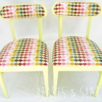 Vintage Chairs Makeover