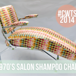 1970's Salon Shampoo Chair