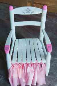 Princess Chair Makeover {Curbside Treasures} | HeartWork ...