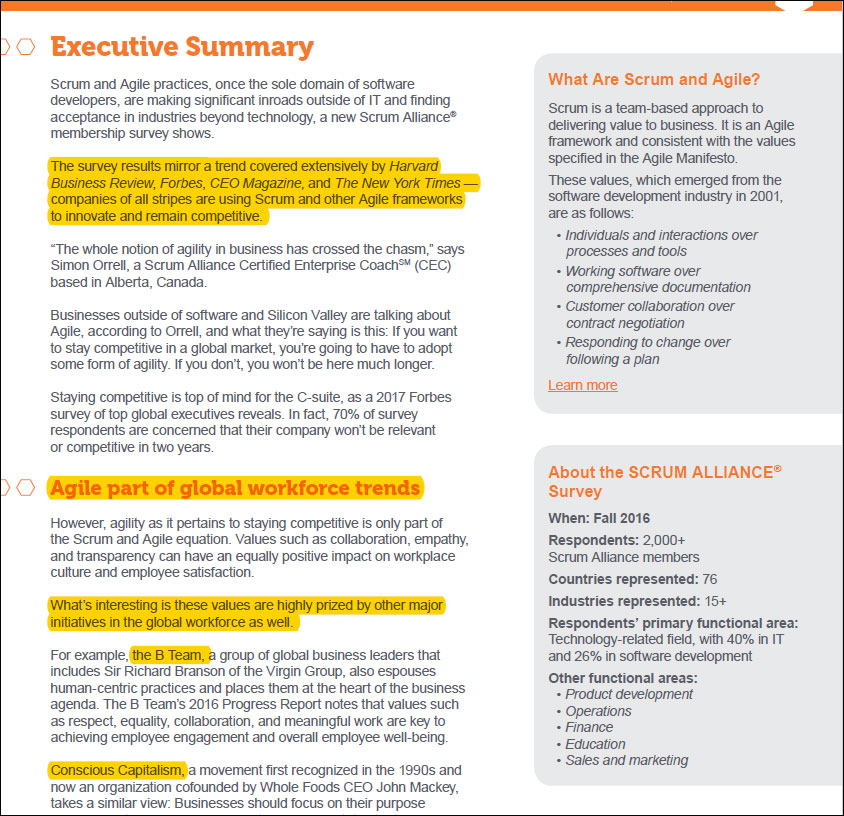 5 Tips to Writing the Executive Summary of a Survey Report