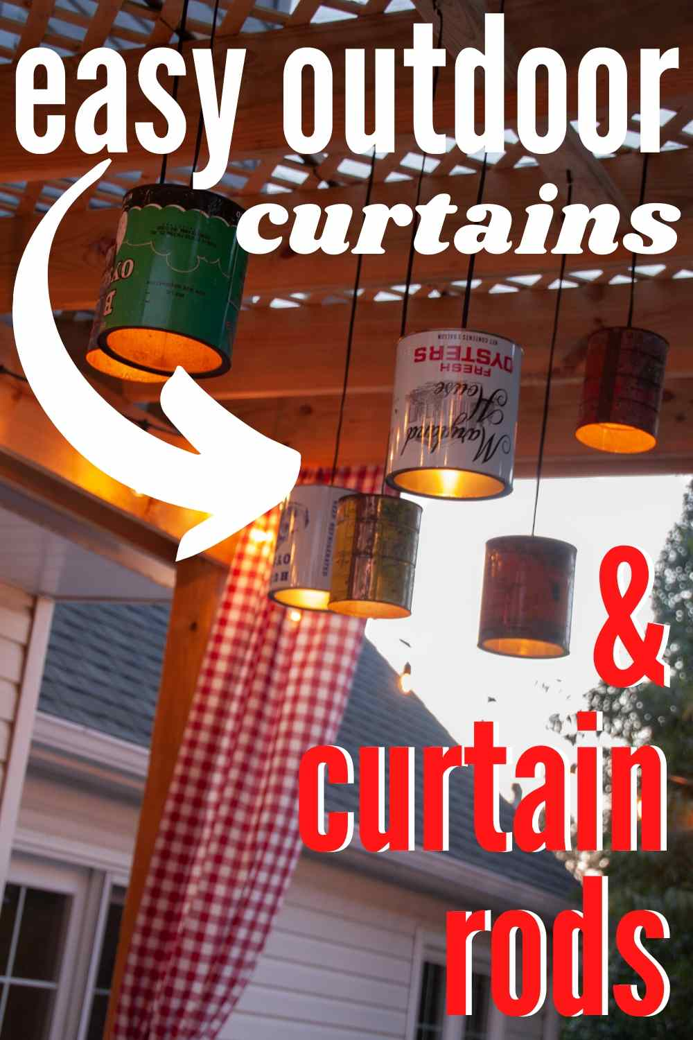 Easy Diy Curtains And Diy Curtain Rods The Heathered Nest