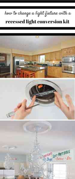 Small Of Recessed Light Conversion Kit