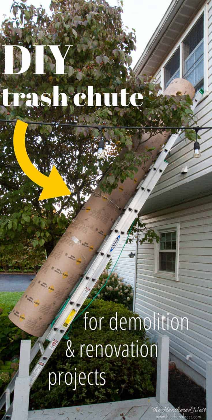 Concrete Tube Forms Diy Garbage Chute Trash Chute From Concrete Forms The