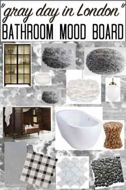 Small Of Grey And White Bathroom