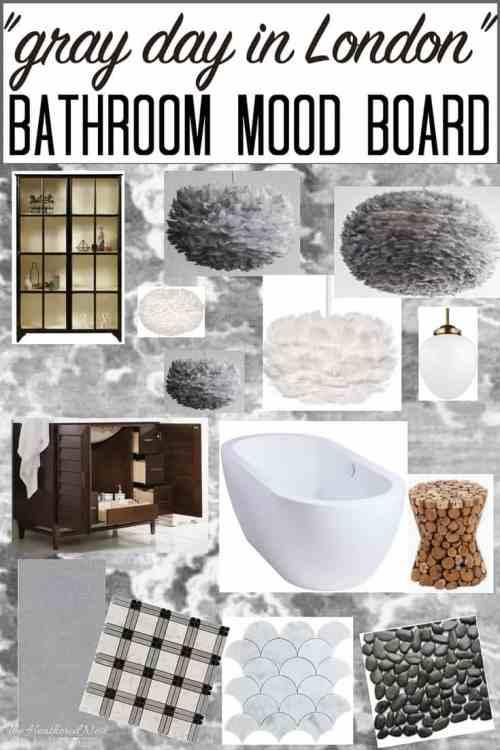 Medium Of Grey And White Bathroom