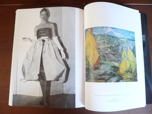 Poof skirt dress in Balenciaga and Spain, the book