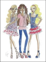 Denim Heaven doll collection by Heather Fonseca