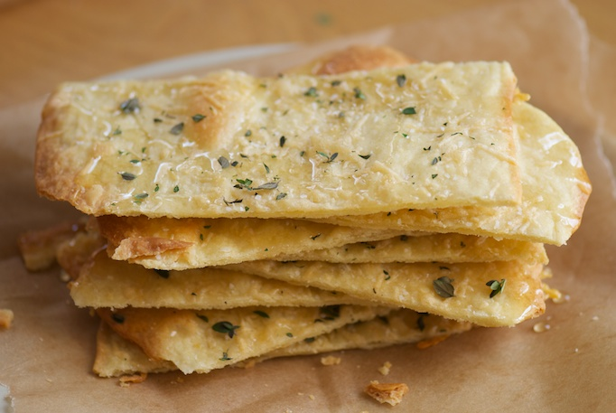 Flatbreads with Honey and Thyme