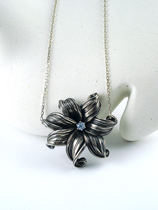 Tropical Flower Pendant