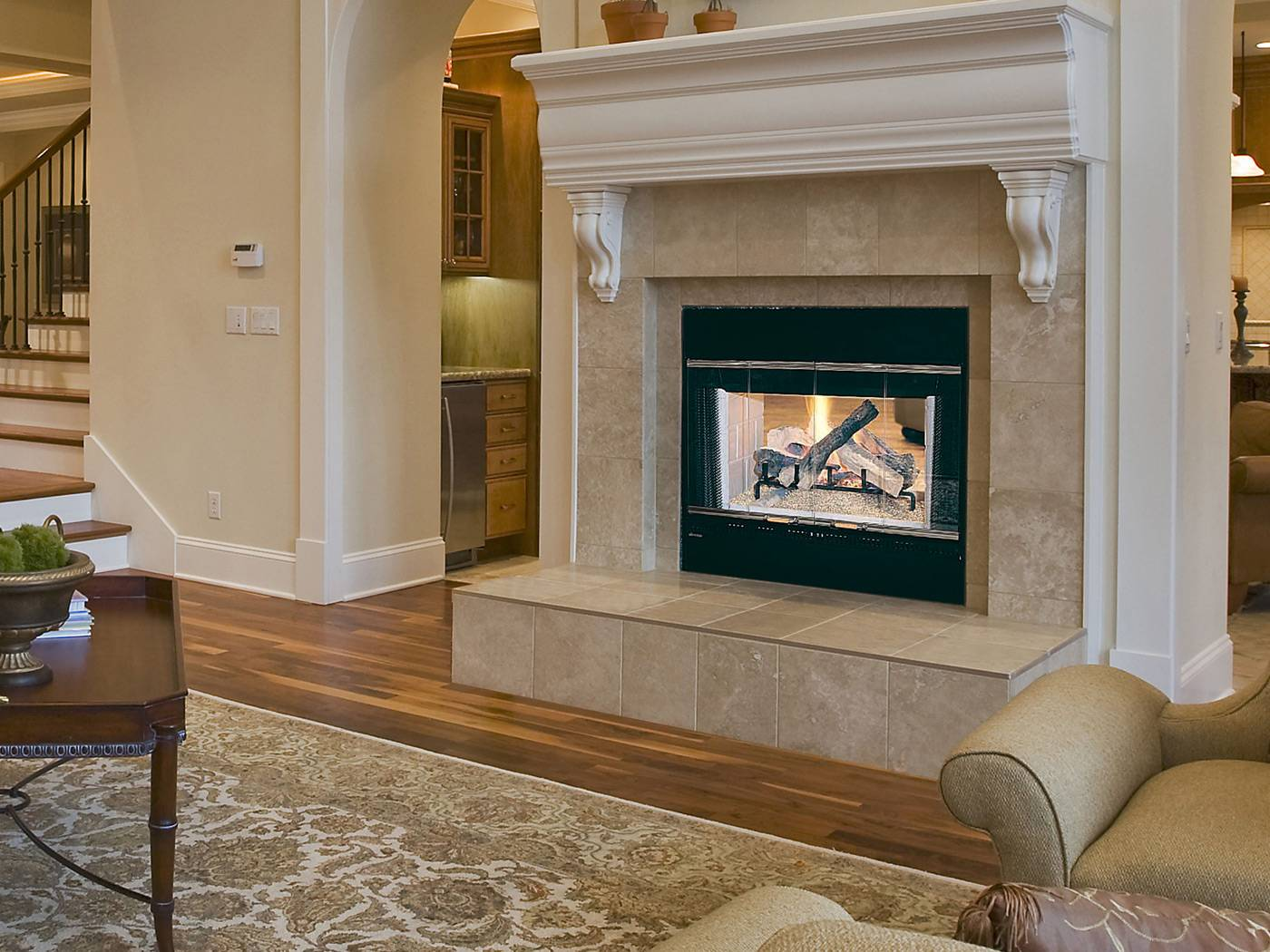 Unique Fireplaces The Hst 48d Wood Burning Fireplace
