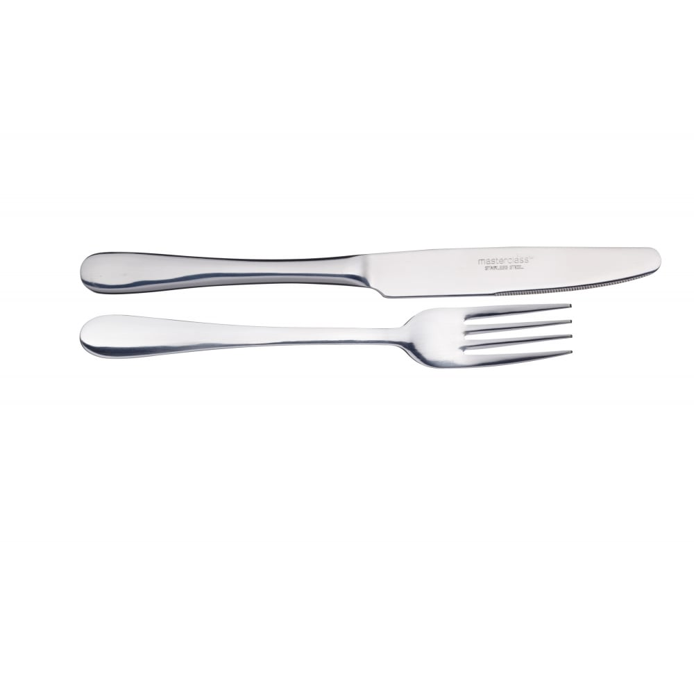 Küchenpapierrollenhalter Master Class By Kitchencraft Set Of 2 Dinner Forks Cutlery Home