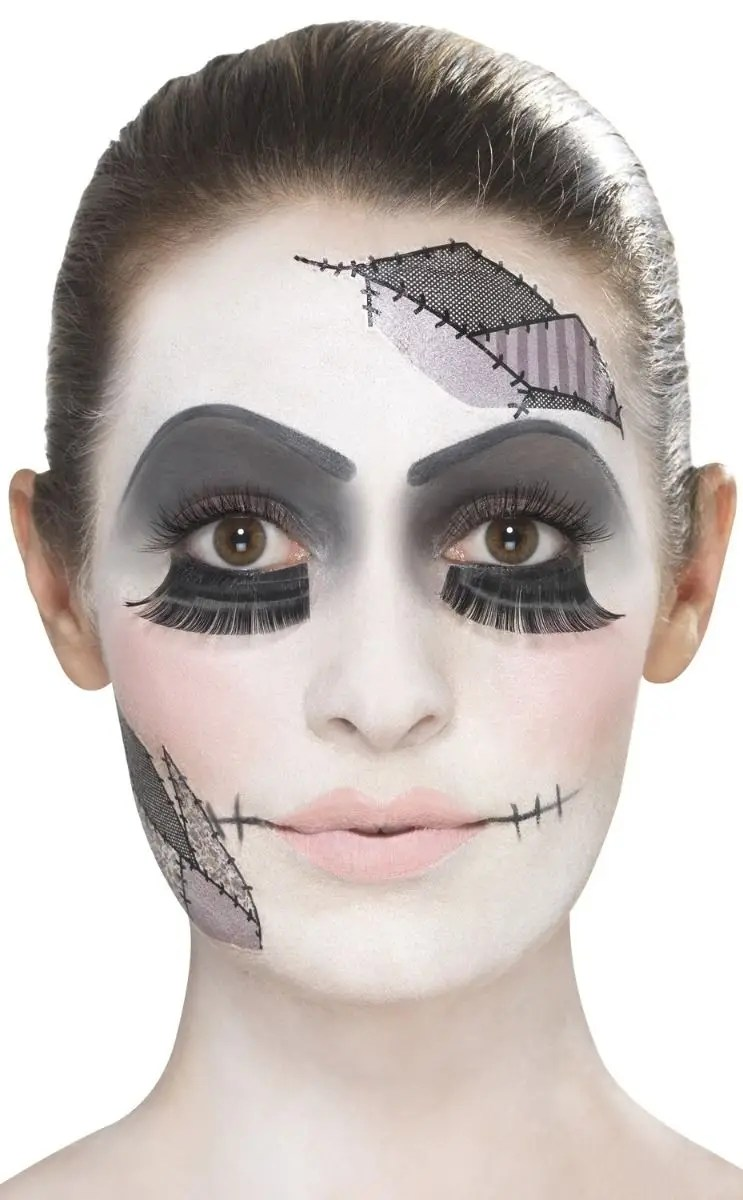 Face Paint Supplies Adelaide Damaged Doll Women S Halloween Makeup Kit