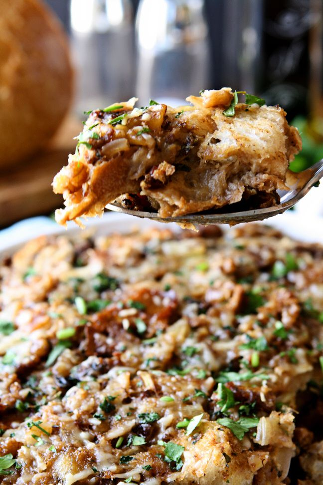 Sourdough Stuffing | Sourdough bread forms the base of this delicious ...