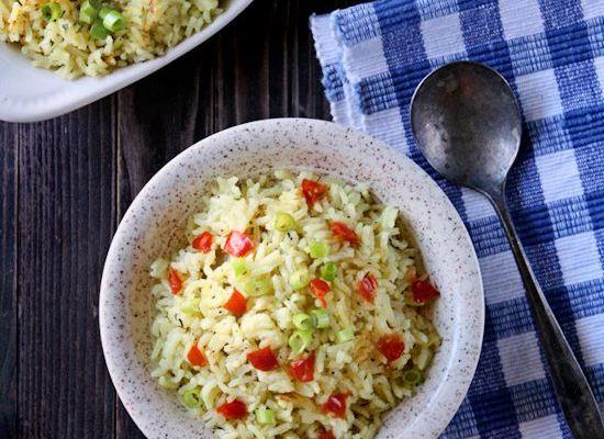 Garlic and Herb Long Grain Rice