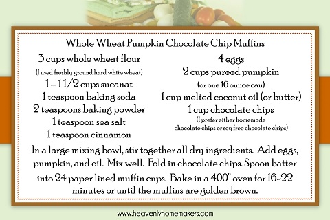 Funky Fresh Freebie - Downloadable Fall Recipe Card Set (Free to all