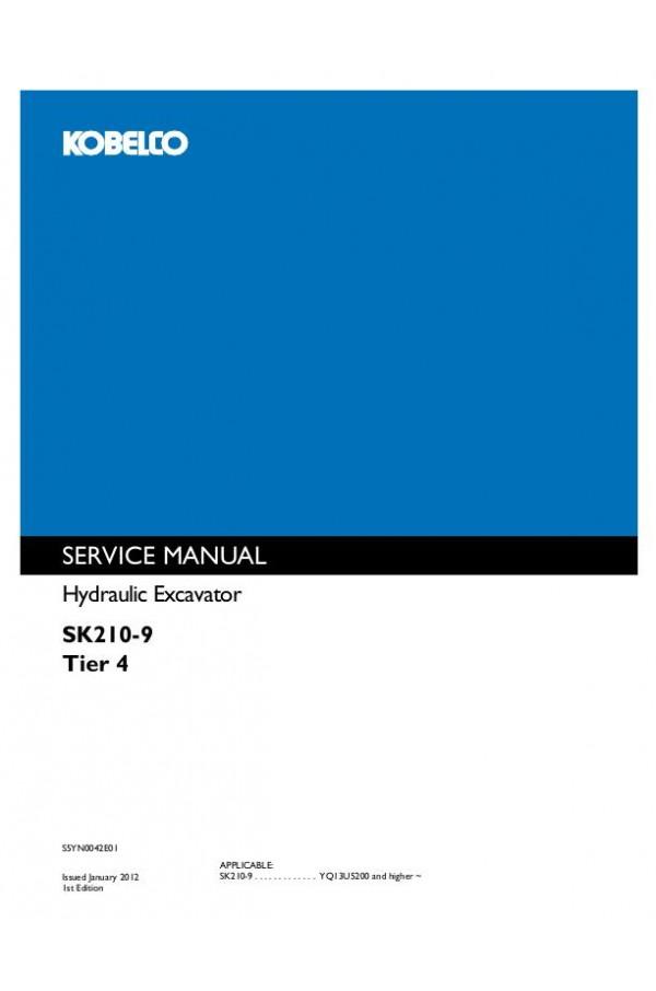 Kobelco SK210-9 Service Manual