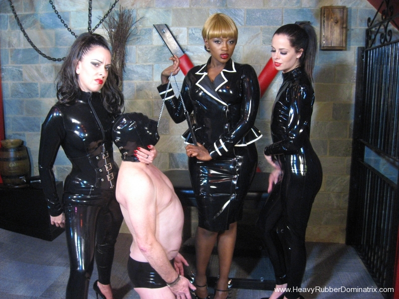 rubber recruitment three dommes