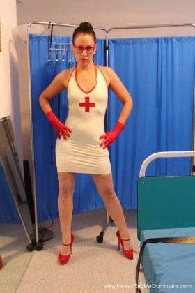 strict rubber nurse