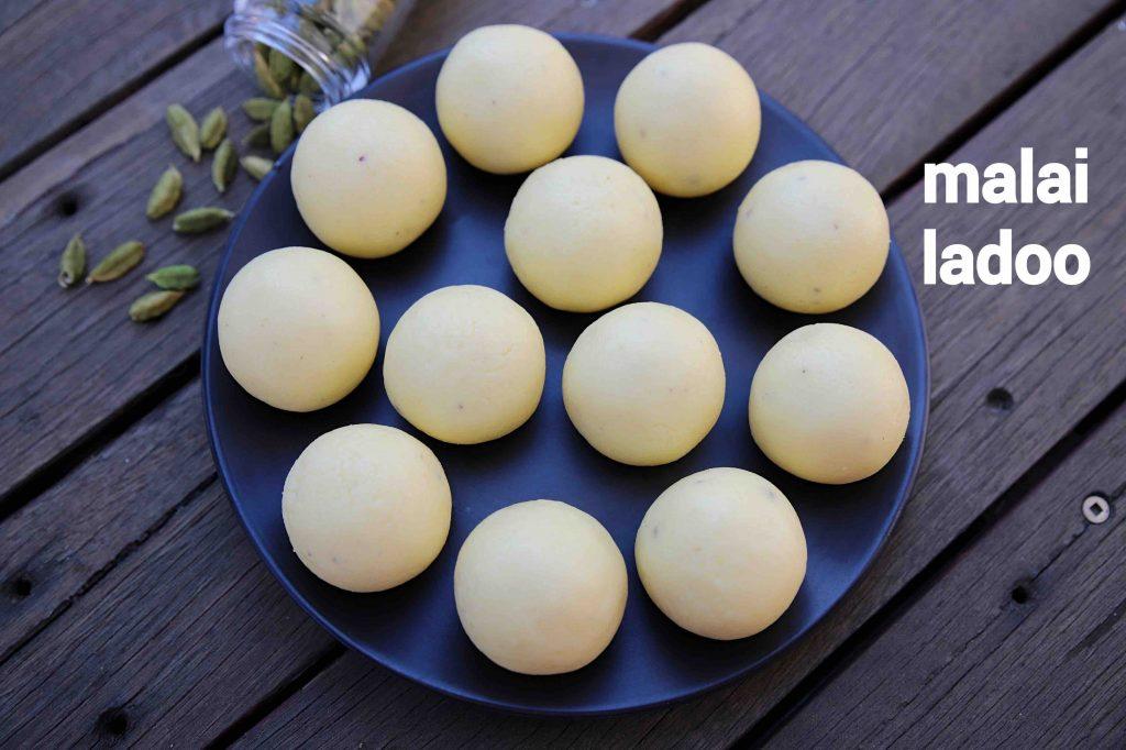 Malai Ladoo Recipe Malai Laddu Milk Ladoo Paneer Ladoo