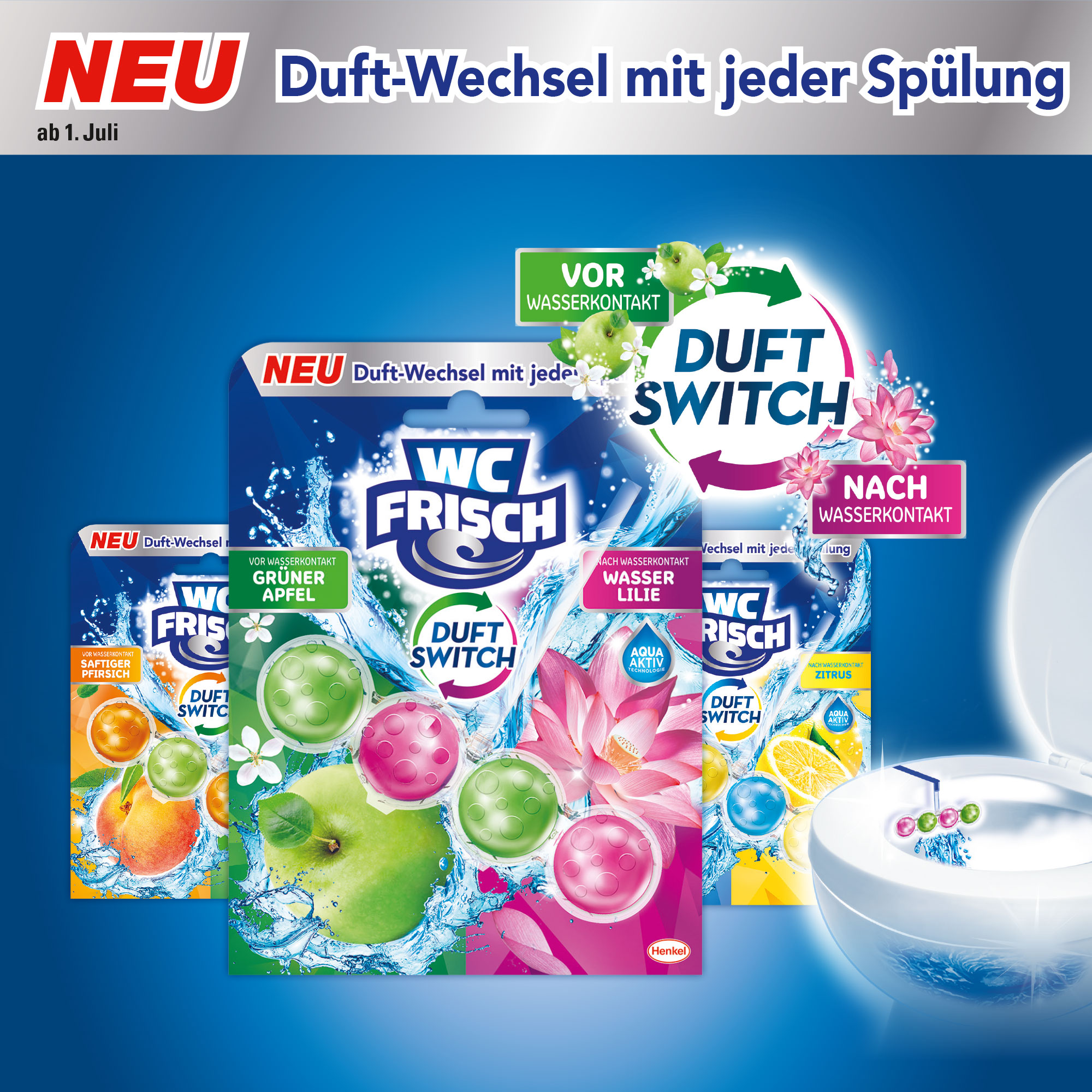 Wc Frisch Flush Of Double Freshness Heber Link Gmbh
