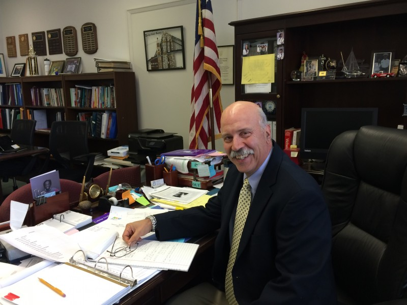 Principal Nicholas Mazzarella, a 28-year veteran of city schools, intriduced an early-college curriculum after he took over at BCA.