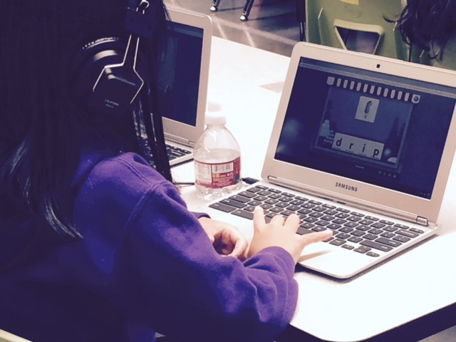 Students at Rocketship elementary schools spend time every day inside their school computer labs where they practice their math and literacy skills on laptops.