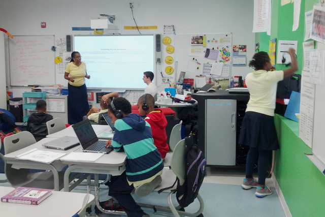 After 20 years, a teacher reinvents her classroom using technology