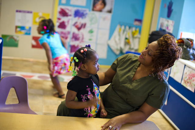 Little Angels Day Care in Mississippi. (Photo: Kim Palmer)