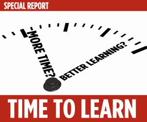 Does more time mean better learning? Click to read our special report on the issue.