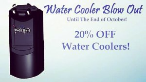 Are you thirsty? Dont miss out on our October sale!