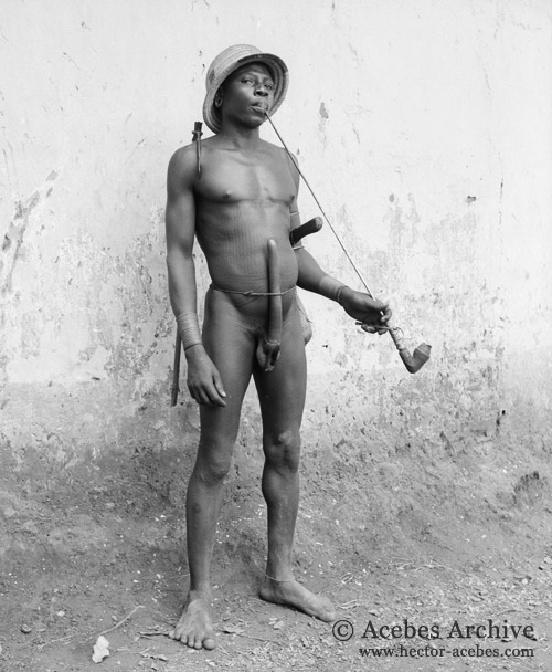 naked men from congo