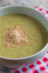 Broccoli and Almond Soup