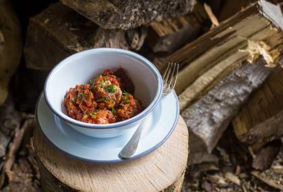Spicy Nduja Meatballs