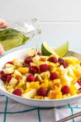 Mojito Fruit Salad Dressing