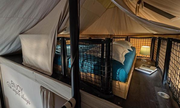 Mobilni glamping šotor Adria