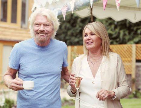 Richard in Joan Branson