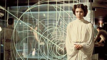 2. Princesa Leia (Carrie FIsher) - filmi Vojna zvezd