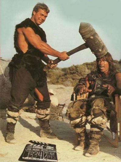 Conan the Barbarian (Konan Barbar, 1982): Sven-Ole Thorsen in Arnold Schwarzeneger