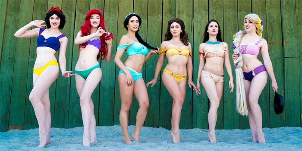 Bikiniji, v katerih boš videti kot Disneyjeva princesa.