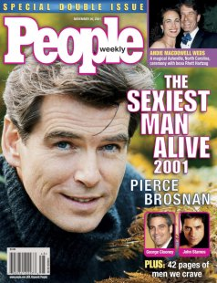2001, Pierce Brosnan
