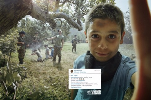 Otroci begunci