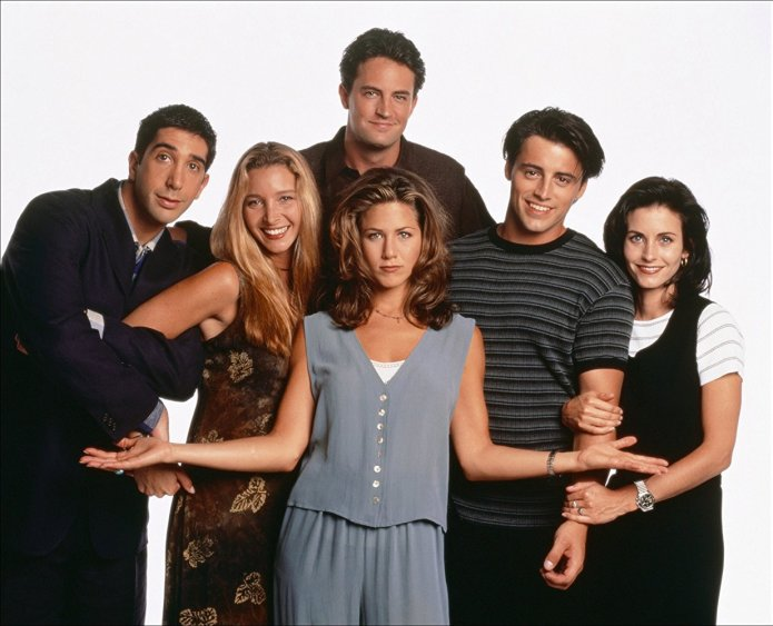 4. Prijatelji (Friends, 1994–2004)