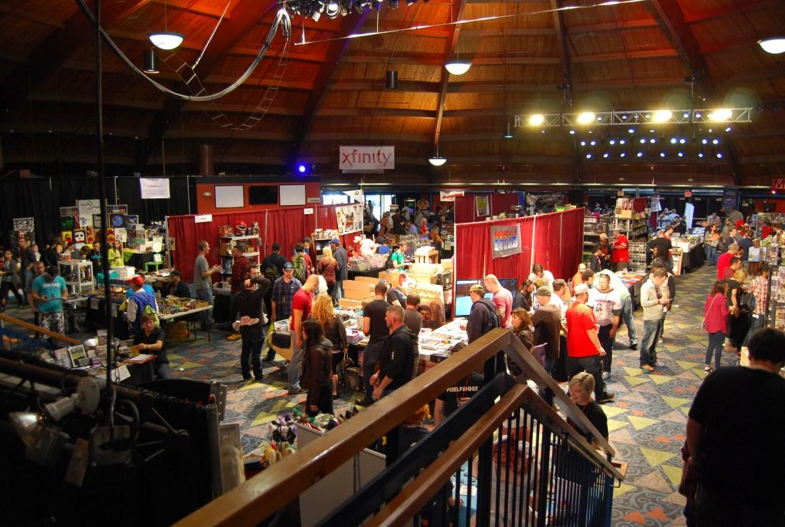 Retroworld Expo trade floor 2