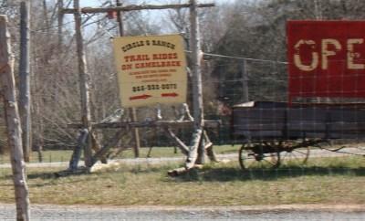 Circle G Ranch sign