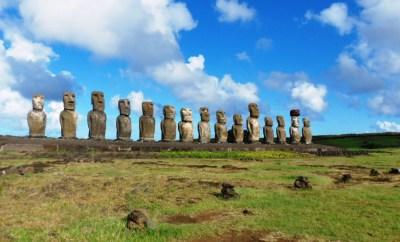 Ahu Tangariki Easter Island