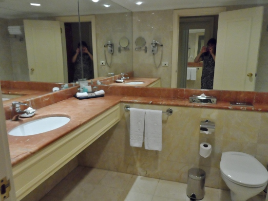 Intercontinental David Tel Aviv King Bathroom