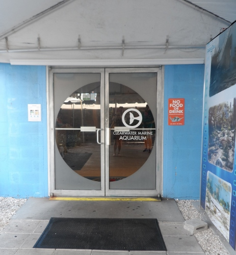 Clearwater Marine Aquarium Entrance