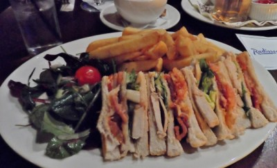 Radisson Blu Limerick Hotel & Spa Quench Bar Club Sandwich